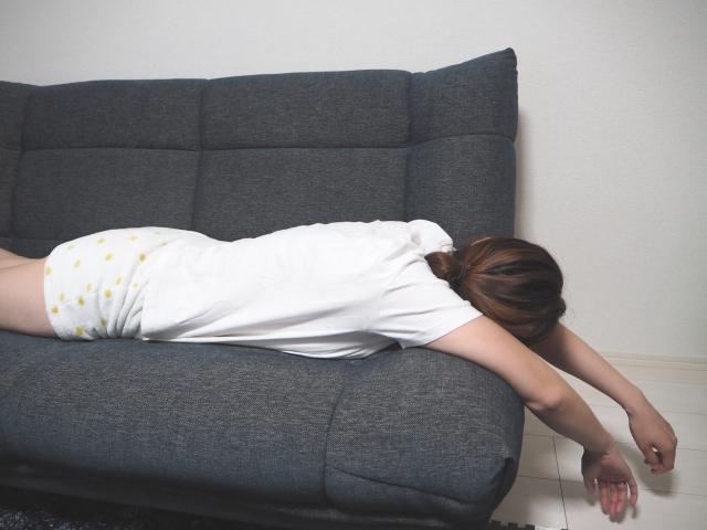 無気力で寝ていたい