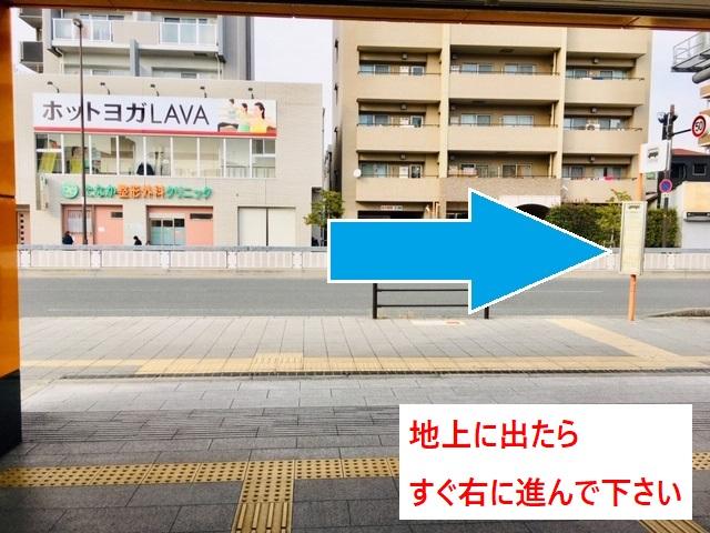 新森古市駅①番出口